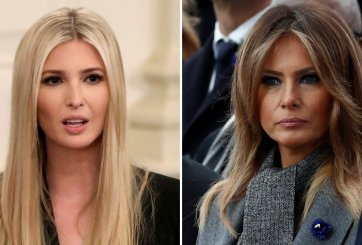 Nuevo libro relata la relación caótica entre Melania e Ivanka Trump