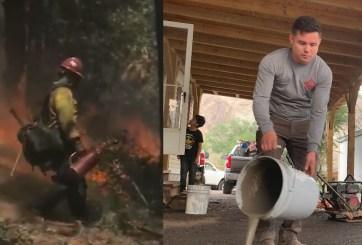 Decenas de familia hispanas en alerta de pre-evacuación por incendios