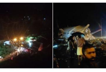 Aterrizaje de emergencia deja 16 muertos y varios heridos en India