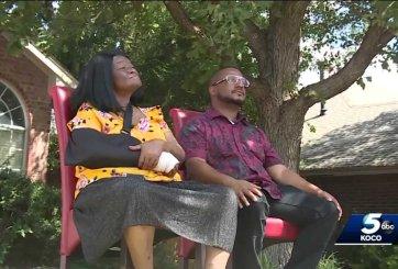 Abuela de 74 años denuncia a oficial de policía por romperle el brazo