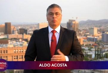 Aldo, rodeado de mujeres, dice que ellas son el compás de su vida