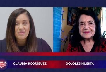 JUNTAS VOTAMOS: Dolores Huerta, la mujer que nos enseñó que ¡sí se puede!