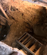 Excavan fosa clandestina para buscar familiares desaparecidos en Tijuana