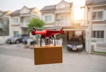 Walmart está usando drones para entregar pruebas de Covid-19