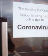 escuela cerrada coronavirus