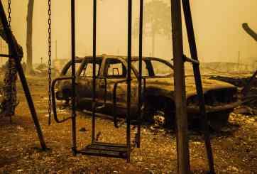 24 muertos por incendios forestales en California, Oregon y Washington