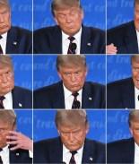 Trump siembra el caos en primer debate presidencial
