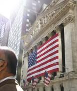 Alzas en Wall Street ante esperanza de un paquete de estímulo