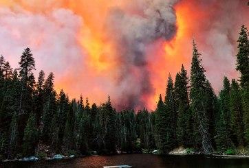 Llegó hasta a Europa el humo por los incendios forestales en California