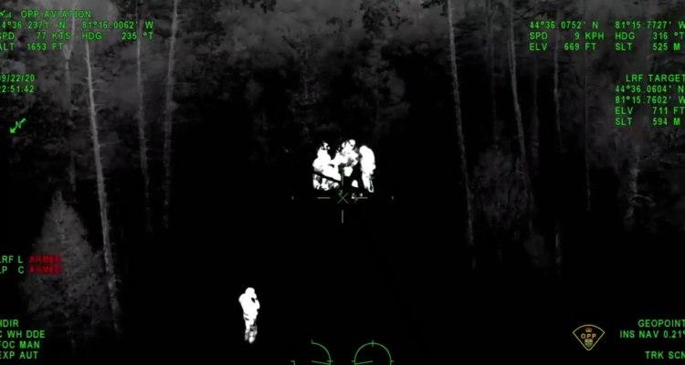 Rescatan a niño con discapacidad usando visión nocturna y helicóptero