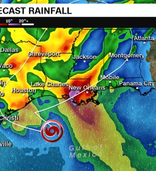 10 millones de estadounidenses bajo alerta por Tormenta Tropical Beta