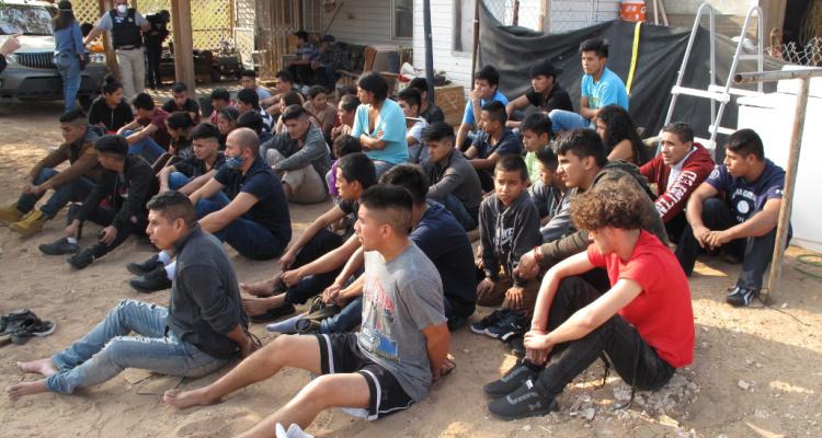 Continúa la captura de red de tráfico de humanos en la frontera