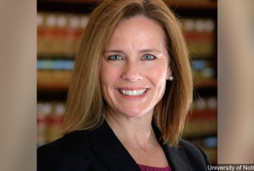 Trump piensa nominar a Amy Coney Barrett para la Corte Suprema