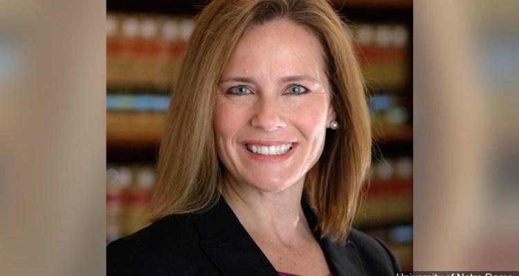 Trump nomina a Amy Coney Barrett para la Corte Suprema