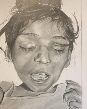 Velan y dan sepultura a niña encontrada en una hielera en Tijuana