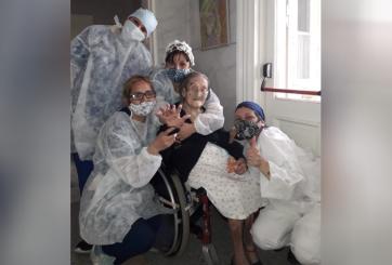 Anciana de 109 años logró sobrevivir milagrosamente al Coronavirus