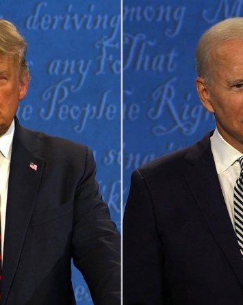 Infeccioso Trump dice que acudirá a próximo debate con Biden