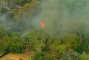 Incendio en Santee