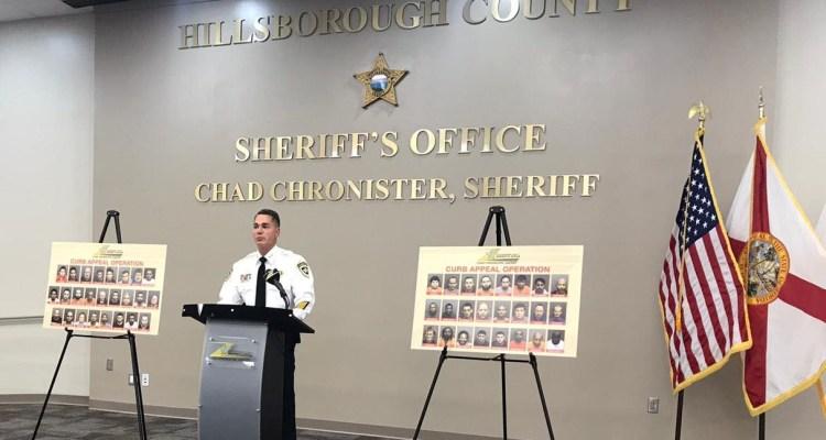 49 hombres bajo arresto por trata de personas en Tampa