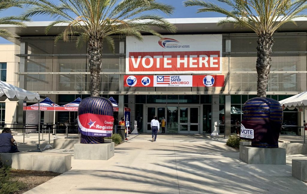 San Diego registrar of Voters