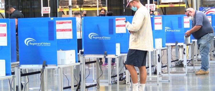 Amplían instalaciones para votar en persona en el Registro Electoral