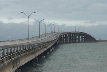 Cierran carriles de puente Queen Isabella para reparaciones