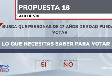 propuesta 18 california