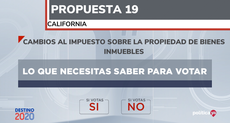 propuesta 19 california