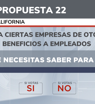propuesta 22 california