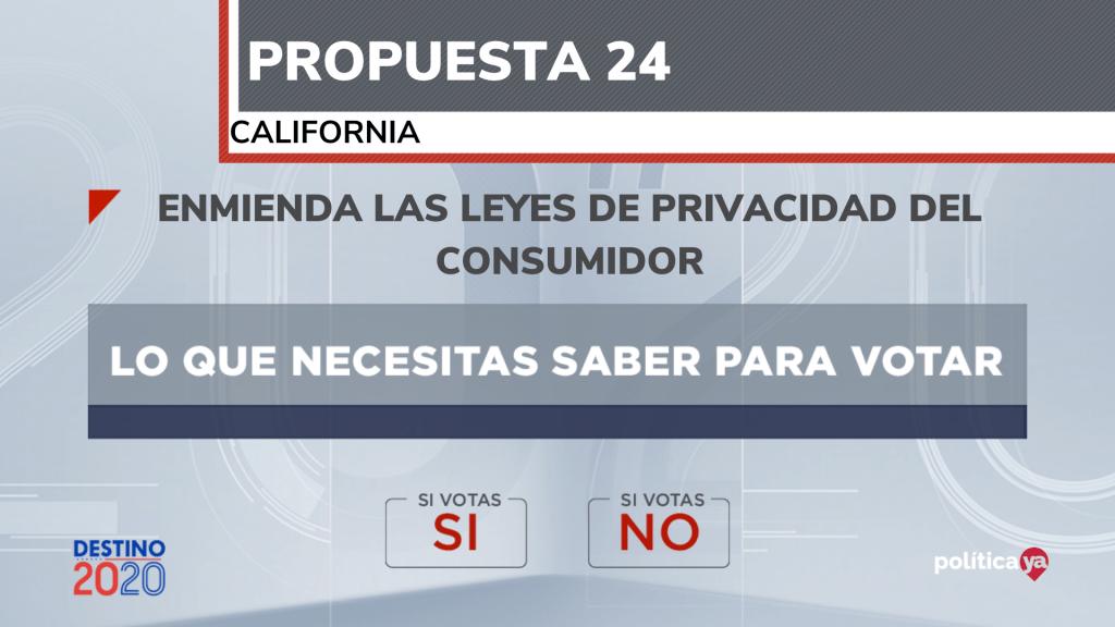 propuesta 24 california