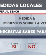 medidas locales imperial beach