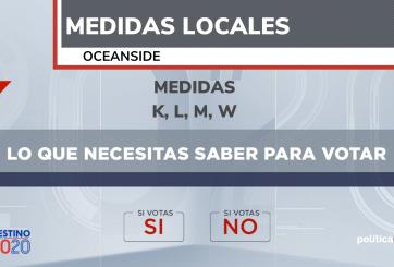 medidas locales oceanside