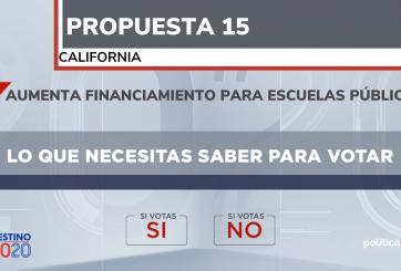 propuesta 15 california