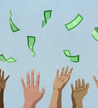 dinero de estímulo