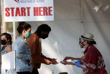 Elecciones: Entusiasmo demócrata impulsa récord de votos anticipados