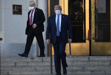 Trump abandona el hospital donde fue tratado por Covid