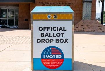 GOP de California instala buzones de votación no oficiales
