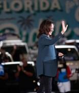 Kamala Harris visita Florida en primer día de la votación anticipada