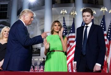 Barron Trump, hijo de Donald y Melania, también dio positivo por Covid
