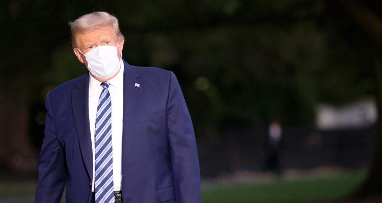 Infeccioso Trump hará evento en jardín de la Casa Blanca el sábado