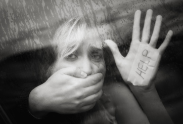 mujer secuestrada