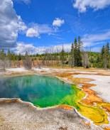 Niño de 3 año cayó en agua hirviendo en el Parque Nacional Yellowstone
