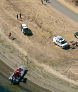 VIDEO: Encuentran restos humanos dentro de fogata en bahía de San Diego