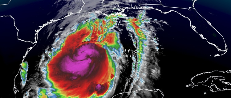 Huracán Delta toca tierra en Louisiana como tormenta Categoría 2