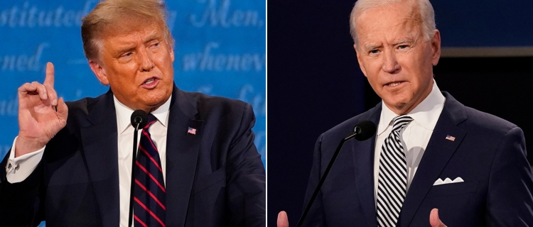 Segundo debate de Trump y Biden será virtual; Trump se niega