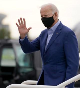Biden: Contagio de Trump es un recordatorio de la seriedad del virus