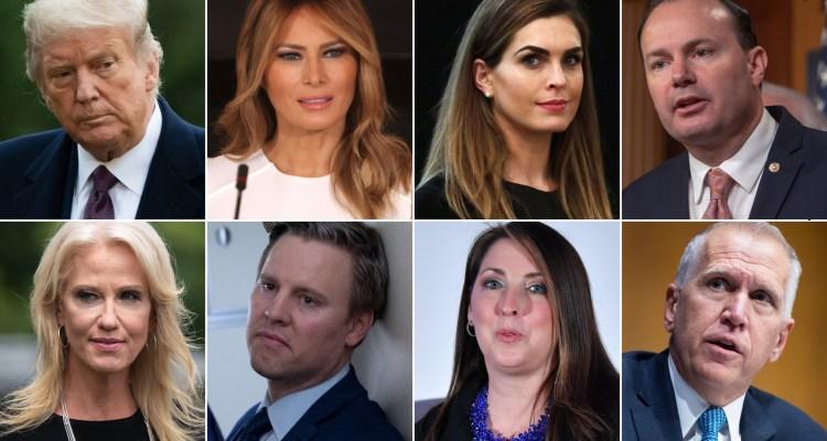 ¿Quiénes han sido afectados por el brote de Covid en la Casa Blanca?