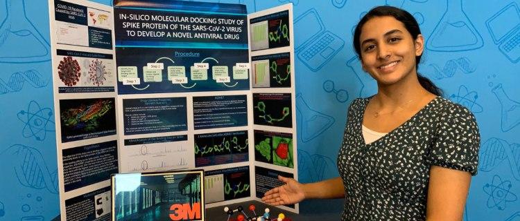 Tiene 14 años y descubrió un potencial tratamiento contra la COVID-19