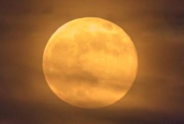 Lunas llenas en octubre: luna de cosecha esta noche y otra en Halloween
