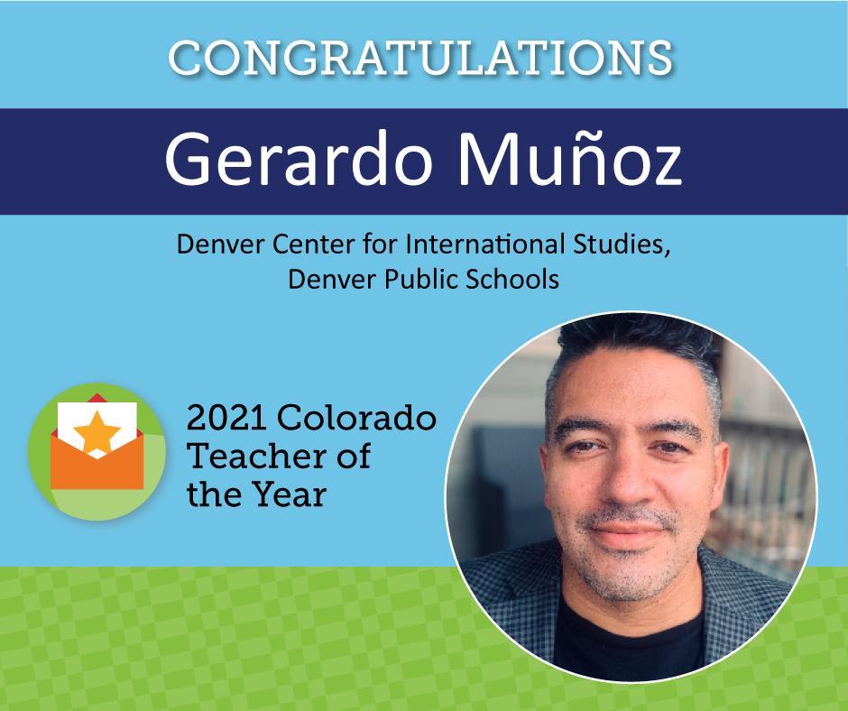 Hispano recibe premio al maestro del año en Colorado